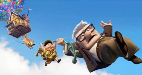 """De nieuwste Pixar film """"Up"""""""